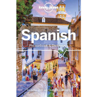 【中商原版】西班牙语短语字典(第8版)英文原版  Lonely Planet Spanish Phrasebook & Dictionary 语言学习 外语词典