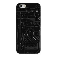 电路板7手机壳iphone6s plus几何图形创意个性苹果X硅胶软8保护套