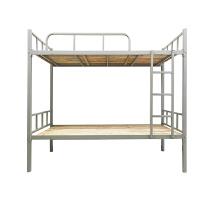 钢架高低床 上下铺铁床学生宿舍双层床武汉员工架子床1.2米高低床钢架床 1000mm*2000mm 1.2米以下