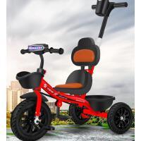 儿童三轮车脚踏车1-3-6岁婴儿幼儿手推车小孩玩具自行车