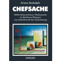 【预订】Chefsache: 1000 Unternehmer-Statements Zu Business-Them