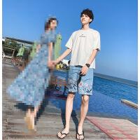 欧美女装潮牌三亚沙滩情侣装夏装2018新款裙海边度假巴厘岛旅游连衣裙夏天海滩