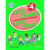 【预订】Let's Chant, Let's Sing Book 4 with Audio CD: Sb 4 with