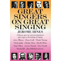 【预订】Great Singers on Great Singing: A Famous Opera Star Int