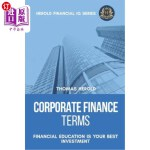 【中商海外直订】Corporate Finance Terms - Financial Education Is Yo