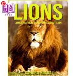 【中商海外直订】Childrens Book: Amazing Facts & Pictures about Lion
