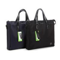 康百大容量手提包女士帆布袋购物袋拉链文件袋男士公文包办公用品