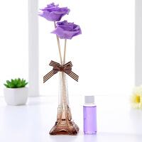 欧式简约可爱家里室内创意房间卧室客厅香薰香水陶瓷装饰品摆件