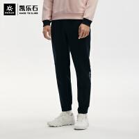 凯乐石卫裤男士针织裤时尚运动休闲长裤简约保暖户外裤KG2138701