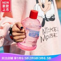 创意矿泉水瓶迷你水桶塑料杯夏季女学生便携大容量水壶防漏随手杯