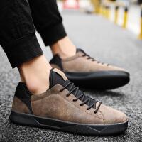 板鞋男秋季新冬款韩版小黑鞋运动休闲鞋百搭透气潮鞋青少年男鞋子