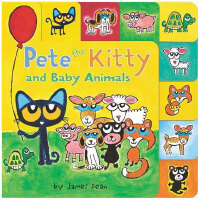 Pete the Cat: Kitty and Baby Animals 皮特猫:小猫和小动物