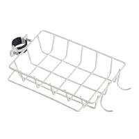 厨房置物水槽沥水架 铁艺水龙头置物架水池厨房用品收纳架免打孔水槽抹布沥水架