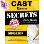 【中商海外直订】Cast Exam Secrets Study Guide: Cast Test Review for