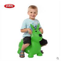 伊诺特 跳跳马儿童充气玩具跳跳鹿宝宝坐骑跳跳动物无毒