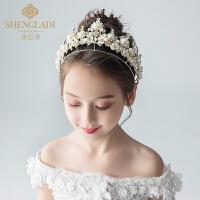 儿童皇冠头饰公主水晶发箍女孩生日发箍韩式