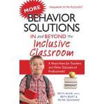 【预订】More Behavior Solutions in and Beyond the Inclusive Cla