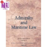 【中商海外直订】Admiralty and Maritime Law, Volume 1