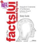 【中商海外直订】Studyguide for Fundamentals of Fluid Mechanics by M