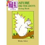 【中商海外直订】Nature Follow-The-Dots Coloring Book