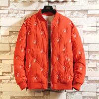 冬季新款加厚棉服男士大码韩版宽松棉衣潮流学生冬天棉袄外套