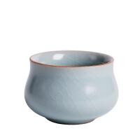 陶瓷茶杯小杯子功夫茶单个喝茶主人杯单杯大号