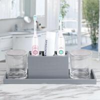 创意卫浴五件套 浴室用品洗浴套件牙具卫生间洗漱刷牙杯套装北欧