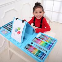 儿童绘画套装小学生水彩笔蜡笔美术文具礼盒儿童绘画套装学习用品画笔画画工具