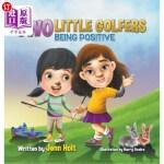 【中商海外直订】Two Little Golfers: Being Positive