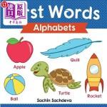 【中商海外直订】First Words (Alphabets): ABC Book for Babies, Toddl