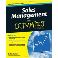 给傻瓜看的销售管理书 英文原版 wiley 威利 Sales Management For Dummies