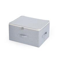 收纳箱布艺衣柜收纳盒整理箱衣服箱子衣物储物盒折叠家用盒子