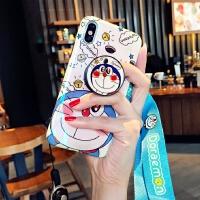 苹果8plus手机壳7p潮牌女款iPhone6带挂绳X挂脖ins超萌网红xr软硅胶保护套卡通少女心X iPhone X