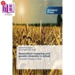 【中商海外直订】Association Mapping and Genetic Diversity in Wheat