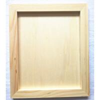 超轻粘土画框 儿童手工雪花泥珍珠泥超轻粘土木质白呸粘土画框
