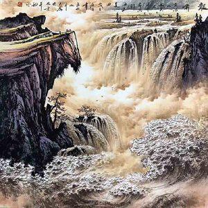 国家一级美术师,中美协常务理事,被业界称为长城画派第一人王大为(龙啸)40