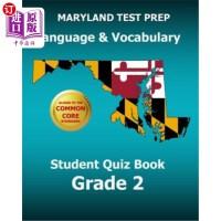 【中商海外直订】Maryland Test Prep Language & Vocabulary Student Qu