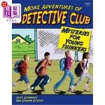 【中商海外直订】More Adventures of the Detective Club, Grades 2-4