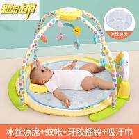 【六一儿童节特惠】 谷雨婴儿健身架器脚踏钢琴0-3-6个月1岁新生儿宝宝早教音