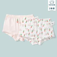 【99元任�x3件:33元】迷你巴拉巴拉女童�妊�2020春夏新款�和�����平角��p薄舒�m��l�b