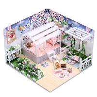 diy小屋 情人节礼物生日礼物送女友立体创意手工拼装房子模型别墅送朋友送闺蜜
