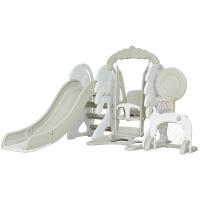 儿童滑滑梯室内家用秋千多功能组合小孩子宝宝幼儿园小型塑料玩具定制