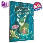 【中商原版】Joe Todd Stanton故事绘本 亚瑟和金绳子 英文原版 Arthur and the Golde