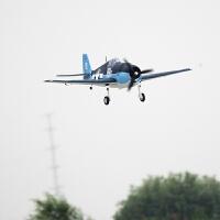六一儿童节礼物遥控飞机户外航模固定翼遥控飞机电动二战机 F6F地狱猫1.27米EPO像真机战斗机 黑蓝色