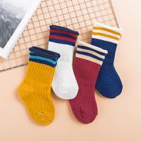 婴儿袜子春秋0-3-6-12个月男女宝宝1冬天2岁儿童中筒袜松口