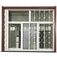 儿童安全窗户防护网推拉折叠内置防盗飘窗户网隐形阳台安全护栏儿童伸缩