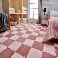 拼接地垫卧室满铺少女ins网红房间绒面地毯泡沫方块家用可水洗