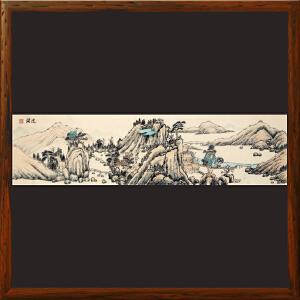 《辽阔》R5199 石振昌 精品横幅山水画