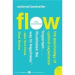 【旧书二手书9成新】Flow当下的幸福 英文原版 Mihaly Csikszentmihalyi(米哈里奇・克森特米哈