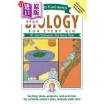 【中商海外直订】Janice Vancleave's Biology for Every Kid: 101 Easy